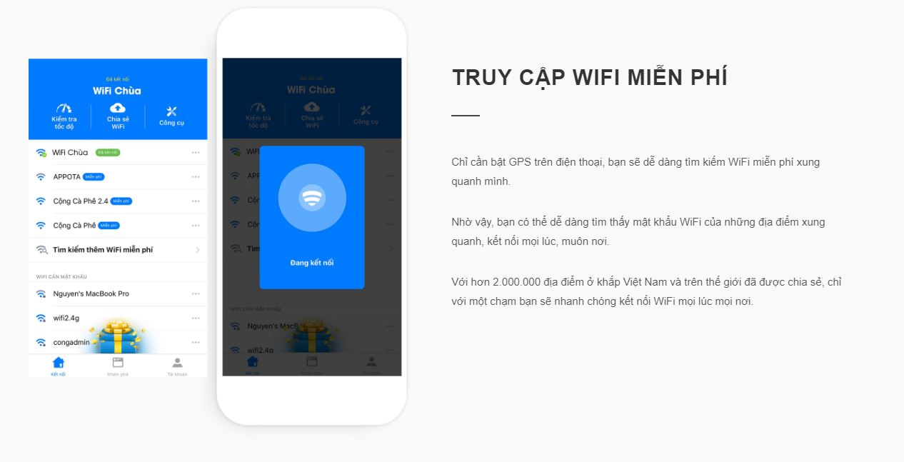 Wifi chùa - Hack pass wifi