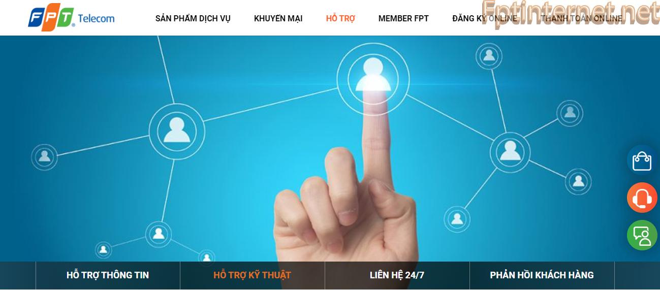 Hỗ trợ khách hàng FPT 2020 2 FPT INTERNET - Lắp Mạng FPT - Lắp Wifi FPT - Lắp Internet FPT