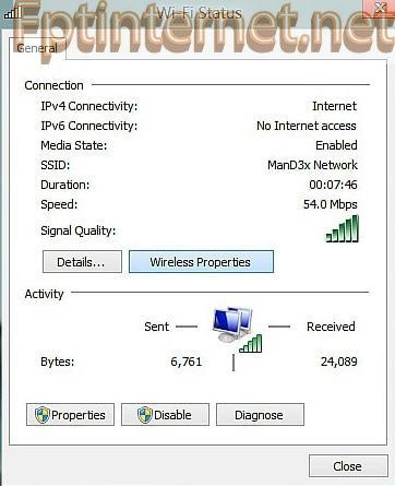 cách xem mật khẩu wifi trên máy tính win XP